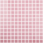 "PINK • Colors Collection by Vidrepur • Recycled Mosaic 1"" x 1"" Glass Tiles"