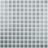 "GREY • Colors Collection by Vidrepur • Recycled Mosaic 1"" x 1"" Glass Tiles"