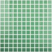 "LIGHT GREEN • Colors Collection by Vidrepur • Recycled Mosaic 1"" x 1"" Glass Tiles"