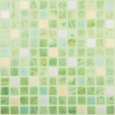 "CARIBE • Mixes Collection by Vidrepur • Recycled Mosaic 1"" x 1"" Glass Tiles"