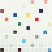 "JOY MIX • Mixes Collection by Vidrepur • Recycled Mosaic 1"" x 1"" Glass Tiles"