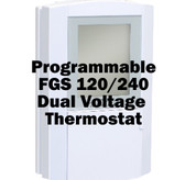 120/240 Dual Voltage Programmable Thermostat • FGS • Warm Tiles • Heated Floors