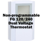 120/240 V Dual Voltage Thermostat (Non-Programable) • FG • Warm Tiles • Heated Floors
