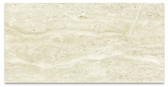"Beige 12"" x 24"" Wall Field (Polished) • Classic Travertino by Eleganza"