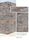 "Mustang • 6"" x 24"" • Split Face Ledge Stone Panels"