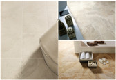 "16"" x 24"" • Eco-Tuscany • Eleganza • Travertine-Look Porcelain Tile"