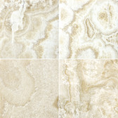 "Crema Onyx • 6"" x 6"" Polished Field Tile"