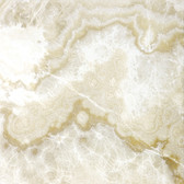 "Crema Onyx • 12"" x 12"" Polished Field Tile"