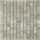 "Seagrass Limestone • 1"" x 1"" Honed Mosaic"