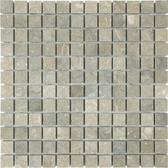 "Seagrass Limestone • 1"" x 1"" Honed Mosaic"