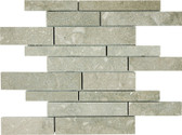 Seagrass Limestone • Random Strip Honed Mosaic