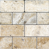 Picasso Travertine Tumbled | 3X6 Field Tile