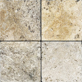 Picasso Travertine Tumbled | 6X6 Field Tile