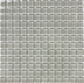 "Bliss Elements • Smoke • 1"" x 1"" Glass Mosaics"