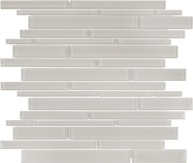 Elements Mist - Random Strip Mosaics
