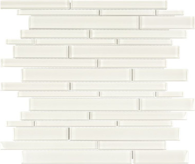 Bliss Elements Sand Random Strip Mosaics