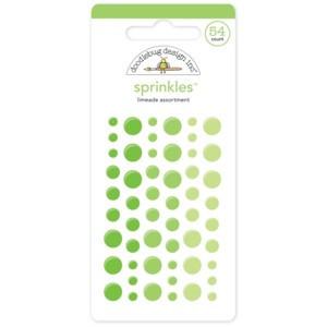 Limeade Green Doodlebug Sprinkle Dots