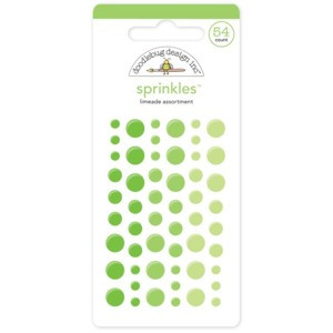 Green Doodlebug Sprinkle Dots