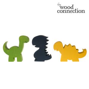 Chunky Dinosaur Trio