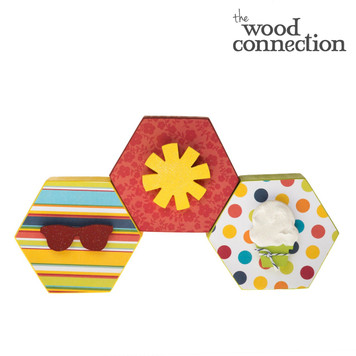 Summer Hexagon Trio