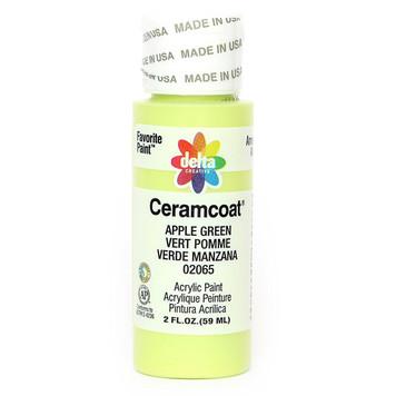 Delta Ceramcoat ® Acrylic Paint,  Apple Green