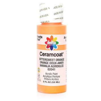 Delta Ceramcoat ® Acrylic Paint,  Bittersweet Orange