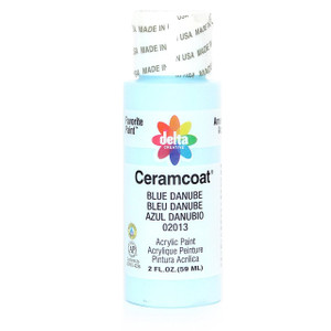 Delta Ceramcoat ® Acrylic Paint,  Blue Danube