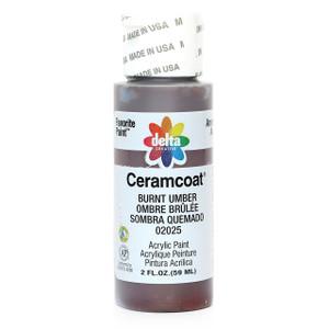 Delta Ceramcoat ® Acrylic Paint, Burnt Umber
