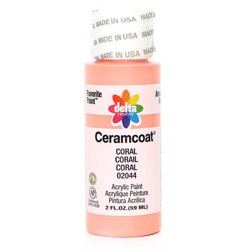 Delta Ceramcoat ® Acrylic Paint, Coral