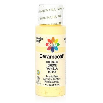 Delta Ceramcoat ® Acrylic Paint, Custard