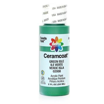 Delta Ceramcoat ® Acrylic Paint, Green Isle