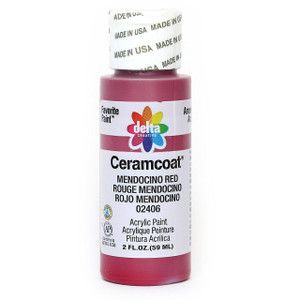 Delta Ceramcoat ® Acrylic Paint, Mendocino Red