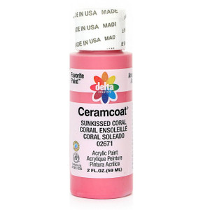Delta Ceramcoat ® Acrylic Paint, Sun Kissed Coral
