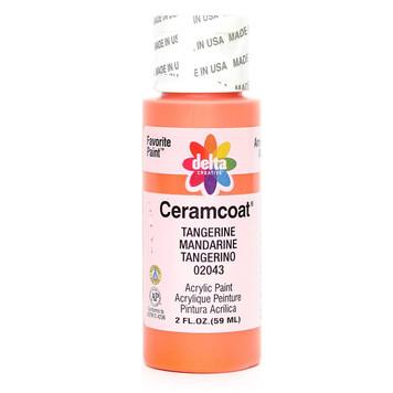Delta Ceramcoat ® Acrylic Paint, Tangerine