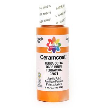 Delta Ceramcoat ® Acrylic Paint, Terra Cotta