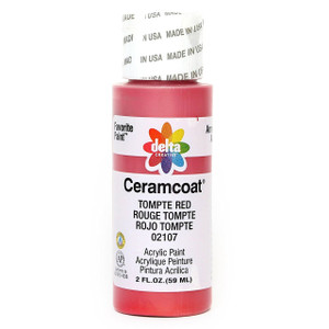 Delta Ceramcoat ® Acrylic Paint, Tompte Red