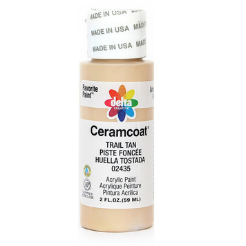 Delta Ceramcoat ® Acrylic Paint, Trail Tan