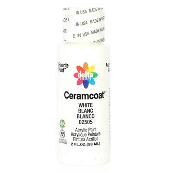 Delta Ceramcoat ® Acrylic Paint, White