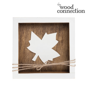 Maple Leaf Box Sign
