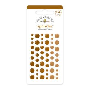 Bon Bon Brown Doodlebug Sprinkle Dots