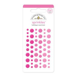 Bubblegum Pink Doodlebug Sprinkle Dots