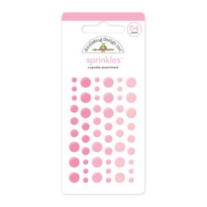 Cupcake Pink Doodlebug Sprinkle Dots