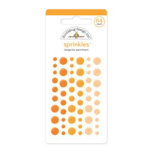 Tangerine Doodlebug Sprinkle Dots