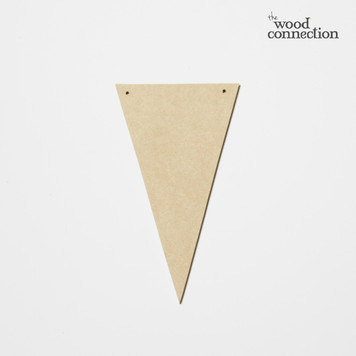 "Mini Banner Shape ""Triangle"""