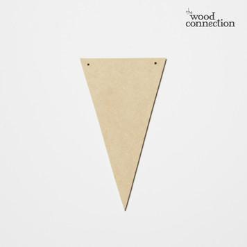 "Mini Banner Shape ""Triangle"""