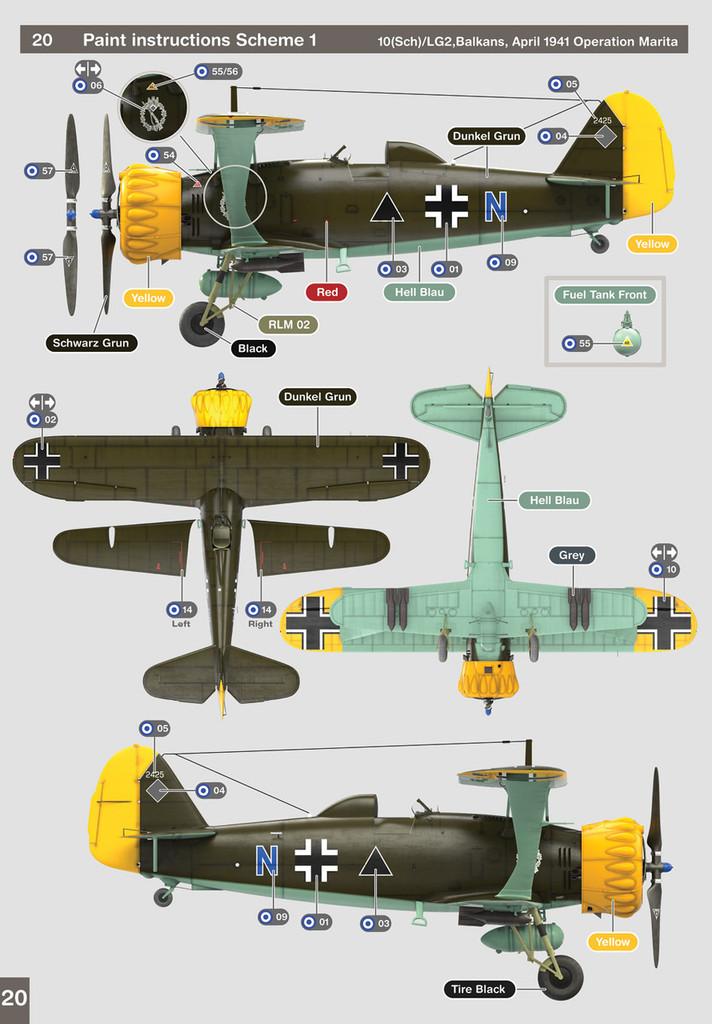 Henschel HS 123 B1 1/48