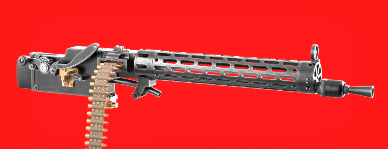 Machine Guns 1:16