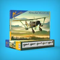 Henschel HS 123 A1 1/48