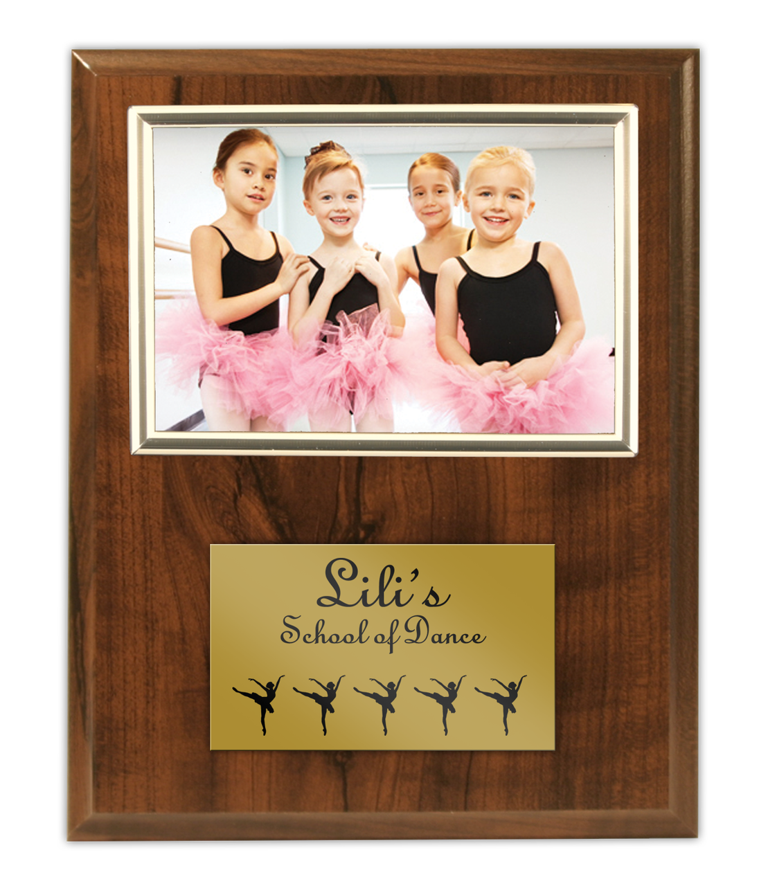 Budget Beater Cherry Photo Frame Plaque, 9 x 12 - RecognitionWorx