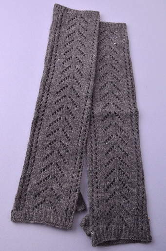 Chevron Knitted Gloves